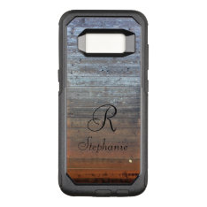 Custom Otterbox. Monogram Otterbox Commuter Samsung Galaxy S8 Case at Zazzle