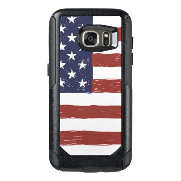 USA Themed Custom OtterBox Samsung Galaxy S7 Commuter Series