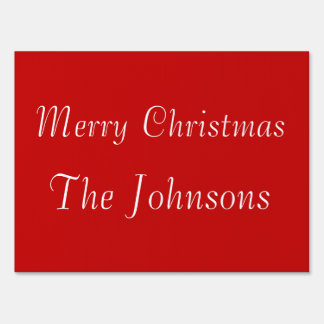 Custom Outdoor Christmas Signs Medium
