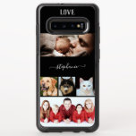 "Custom own  Photo  Collage 5 image OtterBox Symmetry Samsung Galaxy S10  Case<br><div class=""desc"">A fantastic way to show off your favorite photos. Choose images of friends, family, landscapes and even your pets. ** Personalize with your name in the center. Type it between the small boxes and use lower case letters. This will give you the fancy swashes you see in the example. This...</div>"