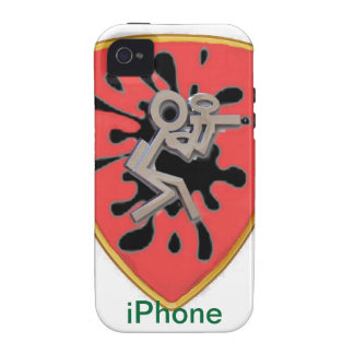 Custom Paintball iPhone Case iPhone 4/4S Cover