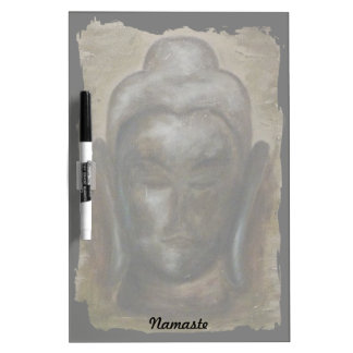 Custom painted buddha face Dry-Erase boards