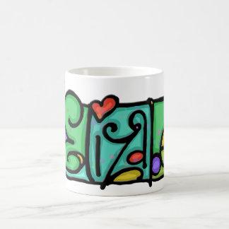 Custom painted name charming Elizabeth Cup
