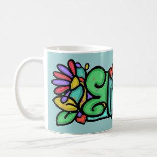 Custom painted name LittleGirlie Elizabeth Cup