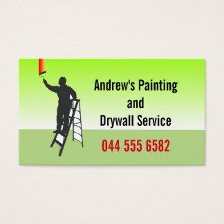 Custom Painting Service Business Card