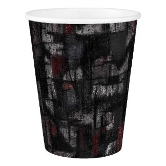 Custom Paper Cup, 266 ml Tango in the rain Paper Cup