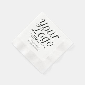 Custom Paper Napkins Corporate Logo Promotional