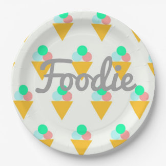 Custom Paper Plates 9 for foodies