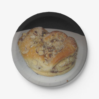 Custom Paper Plates - Pastry 7 Inch Paper Plate
