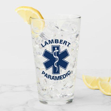 Custom Paramedic EMT EMS Glass