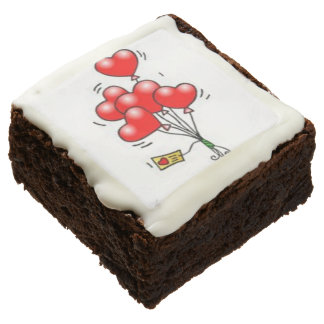 CUSTOM PARTY BROWNIES BY THE DOZEN