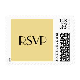 Custom Party Event RSVP Postcard Postage Stamp