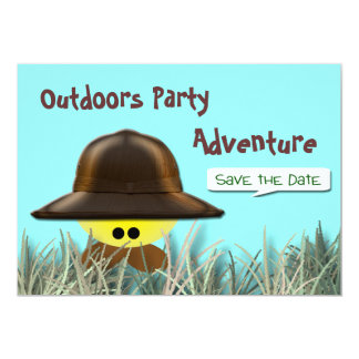 Custom Party Invitations save the date