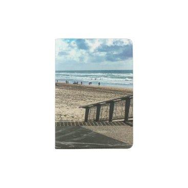 Beach Themed Custom Passport Holder Beach.