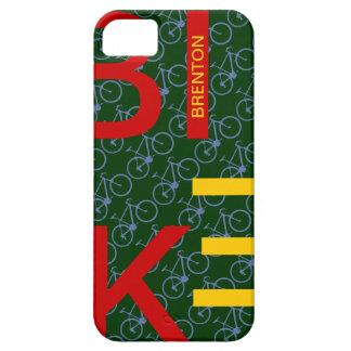 custom pattern bike design iPhone SE/5/5s case