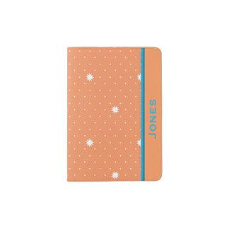 Custom Peach Designer Passport Covers Passport Holder