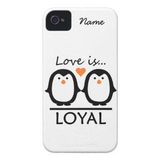 Custom Penguin Love iPhone 4 Case-Mate Case-Mate iPhone 4 Cases