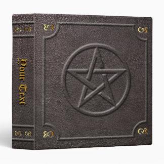 Custom Pentacle Book of Shadows Binder