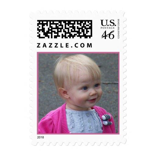 Custom personal postage stamp