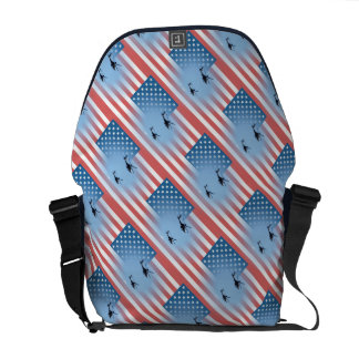 custom personalize do it yourself Anniversaries Courier Bag