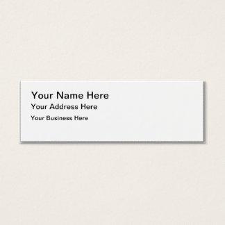 custom personalize do it yourself Anniversaries Mini Business Card