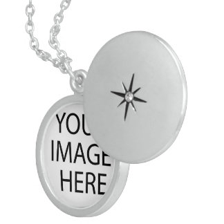 custom personalize do it yourself project home round locket necklace