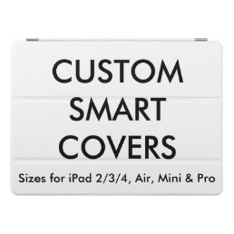 "Custom Personalized 12.9"" iPad Pro Smart Cover"