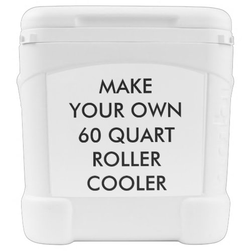 Custom Personalized 60 Quart Roller Drinks Cooler