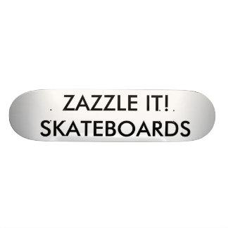 "Custom Personalized 7¾"" Comp Skateboard Deck"