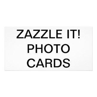 "Custom Personalized 8"" x 4"" Photo Card Blank"