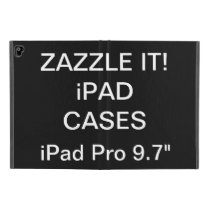 "Custom Personalized 9.7"" iPad Pro Hardcover Case"