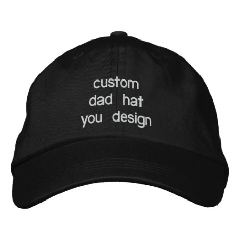 Custom Personalized Adjustable Dad Hats