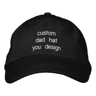 a8bd275a624 Custom Personalized Adjustable Dad Hats You Design