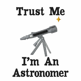 Custom Personalized Astronomer Telescope Tees Polo