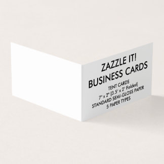 Custom Personalized Book Folded Business Cards