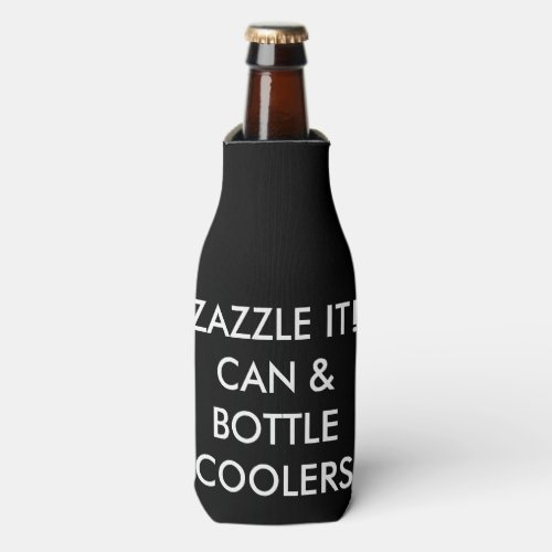 Custom Personalized Bottle Cooler Blank Template