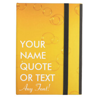 Custom Personalized Bubble Beer Design Cover For iPad Air