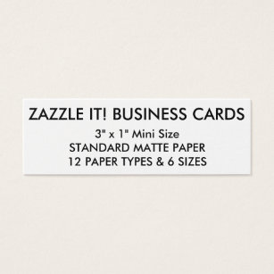 Blank business cards templates zazzle custom personalized business cards blank template reheart Image collections