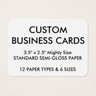 Professional Business Custom Personalized Business Cards Blank Template