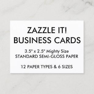 Blank business cards templates zazzle custom personalized business cards blank template reheart Gallery