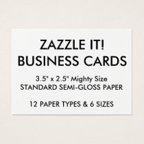 Custom Personalized Business Cards Blank Template