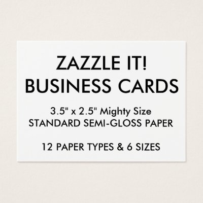 custom personalized business cards blank template zazzle com