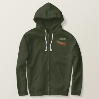 Custom Personalized Canoe Outdoor Sports Embroidered Hoodie