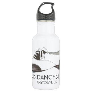 Custom Personalized Dance Studio Tap Shoe Tapdance Water Bottle