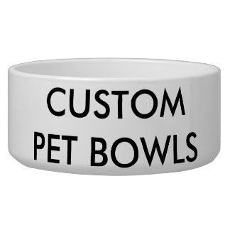Custom Personalized Dog or Cat Bowl Blank Template