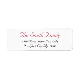 Elegant Shipping, Address, & Return Address Labels | Zazzle