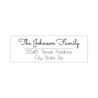 Custom Personalized Family Name Stamp