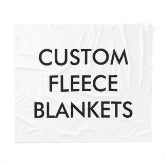 Custom Personalized Fleece Blanket Blank Template
