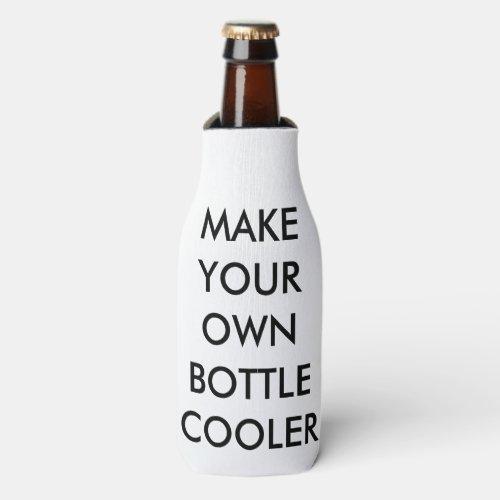 Custom Personalized Foam Bottle Cooler sleeve