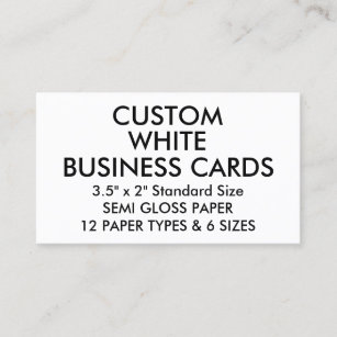 Glossy business cards zazzle custom personalized glossy standard business cards reheart Choice Image
